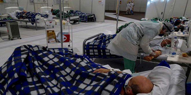 ברזיל: 1446בני אדם מתו בקורונה ביממה האחרונה