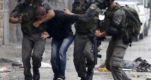 הכוחות הישראליים עצרו שלושה פלסטינים באלקודס הכבושה