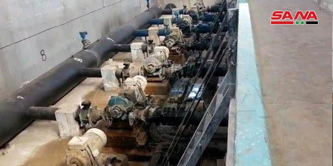 הכיבוש הטורקי ושכירי החרב שלו גונבים את החשמל של תחנת המים עלוק