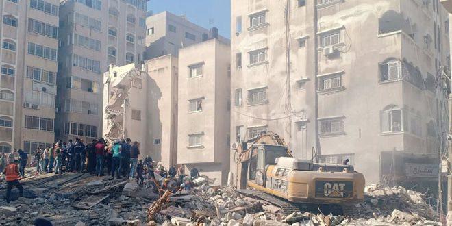 210 חללים ביניהם 59 ילדים קורבנות תוקפנות הכיבוש נגד עזה