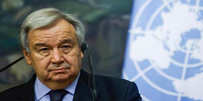 """גוטרש .. המשך לעבוד ליישום החלטות האו""""ם ולסיום הכיבוש הישראלי"""