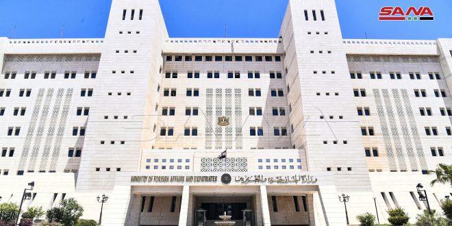 סוריה מגנה את ההתערבות האמריקנית והמערבית הבוטה בענייני הפנים של רפובליקת ניקרגואה ומדגישה את הזדהותה המלאה עם ממשלתה ועמה