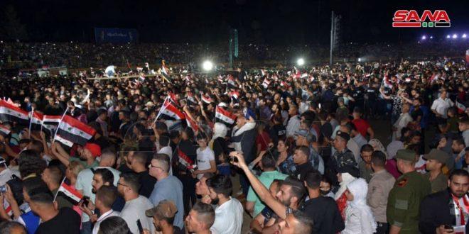 """שגרירים ואישים ערבים ובינ""""ל : עריכת בחירות הנשיאות היא ניצחון חדש שהשיגה סוריה"""
