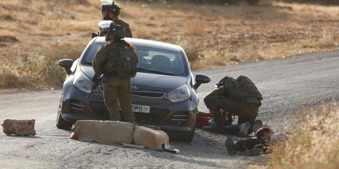 עשרות פלסטינים נפגעו על ידי כוחות הכיבוש בהפגנה נגד ההתנחלות מזרחית לטובאס