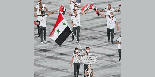פתיחת המשחקים האולימפיים בטוקיו בהשתתפות סוריה