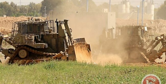 הכוחות הישראליים חדרו לרצועת עזה