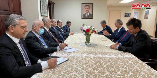 """אל-מוקדאד : האו""""ם צריך להבטיח את כיבוד ריבונות סוריה"""