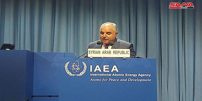 """השגריר ח'דור: חברים בסוכנות הבינ""""ל לאנרגיה אטומית מנצלים את סעיף מימוש הסכם הערביות בסוריה לטובת אג'נדותיהם הפוליטיות"""