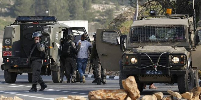 הכוחות הישראלים עצרו 3 פלסטינים בגדה המערבית