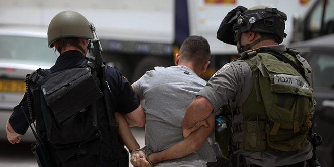 הכוחות הישראליים עצרו פלסטיני בבית לחם