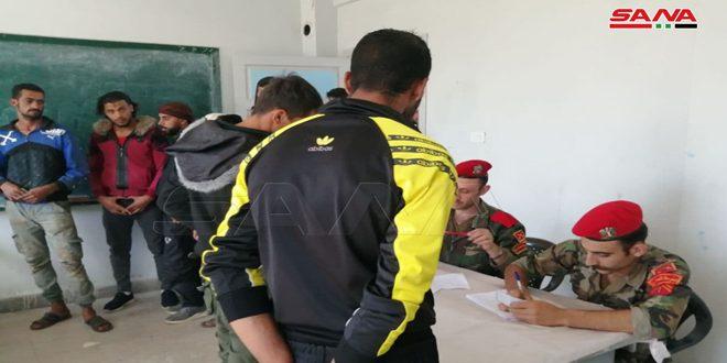 עשרות חמושים מכפרי אגן הירמוך בריף דרעא מצטרפים לפעולת ישוב מצבם