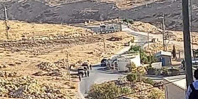 סטודנט פלסטיני נפצע מירי כוחות הכיבוש מזרחית לבית לחם