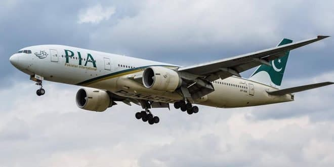 הטיסה הראשונה של חברת התעפוה הפקיסטנית מגיעה לשדה התעופה הבינלאומי של דמשק