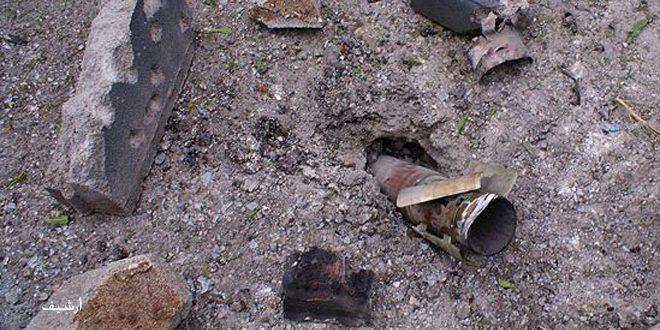 נפילת 2 פגזים של טרור בפאתי ג'בלה