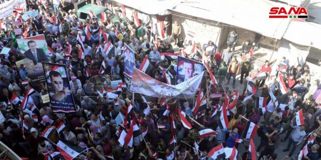 עצרת מחאה המונית בתל רפעת נגד פשעי הכיבוש הטורקי