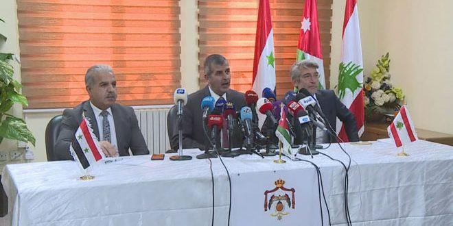 גיבוש הנוסחה הסופית של הסכם סיפוק החשמל ללבנון דרך סוריה