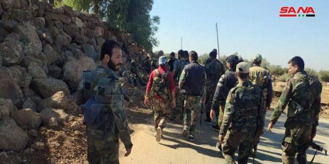 הצבא מתחיל בפעולות סריקה בעיר אלחראך וסביבתה בריף דרעא