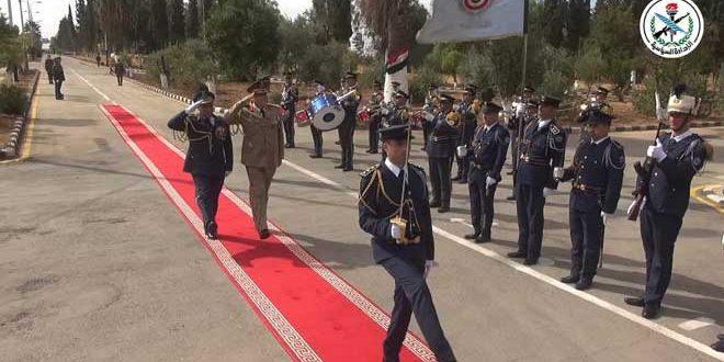 בחסותו של הנשיא אל-אסד בוגרי מחזור חדש של תלמידי הפקולטה האווירית