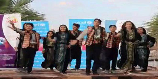 В Дейр-эз-Зоре прошел фестиваль «Детская весна»