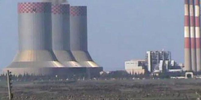Электростанция «Аз-Зара» в провинции Хама вновь подключена к общей сети