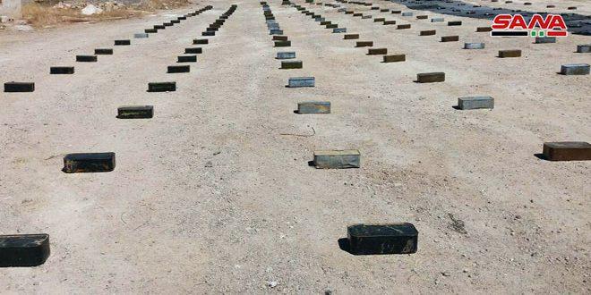 В провинциях Дамаск и Кунейтра найдены партии оружия и боеприпасов, оставленных террористами