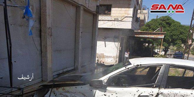 Террористы обстреляли ракетными снарядами город Скальбия в Хаме
