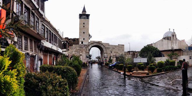 Чешский туристический сайт об истории и красоте Дамаска