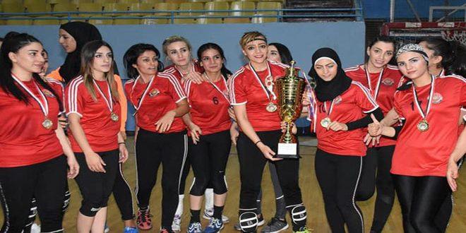 Женская сборная клуба «Аш-Шорта» по гандболу завоевала титул Кубок Республики