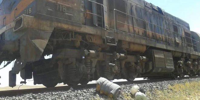 В провинции Хомс в результате теракта грузовой поезд сошел с рельс