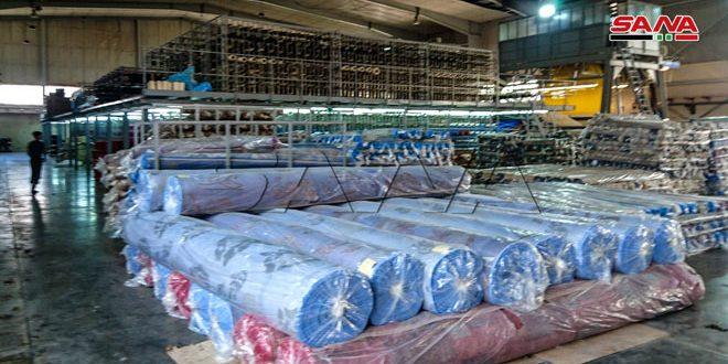 В промзоне Шейх-Наджар в Алеппо работают 565 восстановленных предприятий