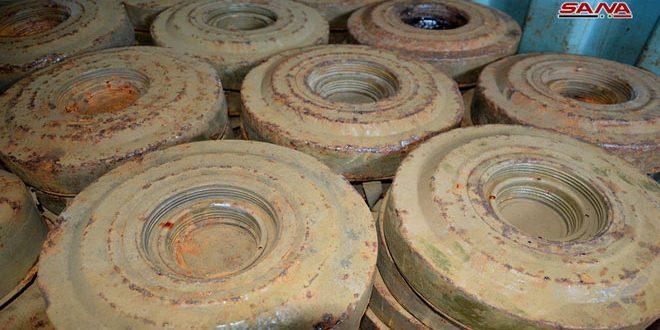 В Хаме 2 мирных жителя подорвались на мине
