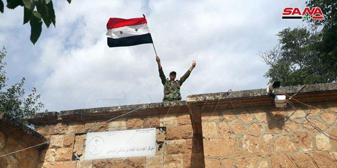 Корреспондент САНА сопровождал подразделения Сирийской армии в городе Айн Аль-Араб провинции Алеппо
