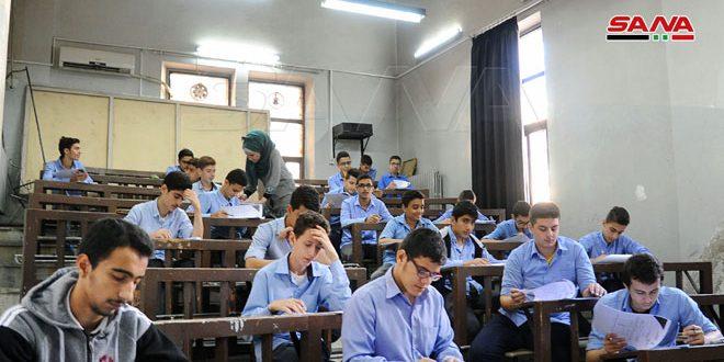 В Сирии проходит Сирийская научная олимпиада школьников