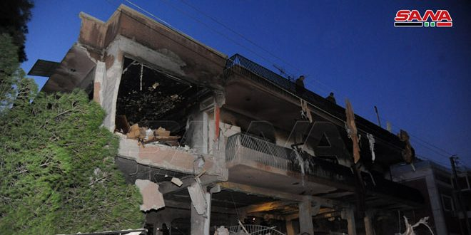 В Дамаске в результате израильской агрессии 2 человека погибли и еще 10 ранены