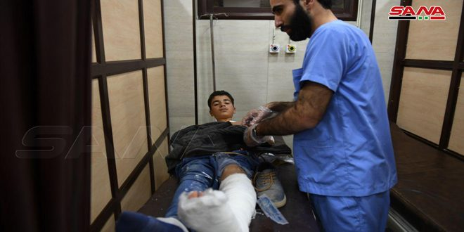 В Алеппо в результате террористического обстрела погибли 5 человек, еще 31 пострадал
