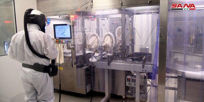 В промзоне Адра провинции Дамаск открыта фабрика по производству противоопухолевых препаратов
