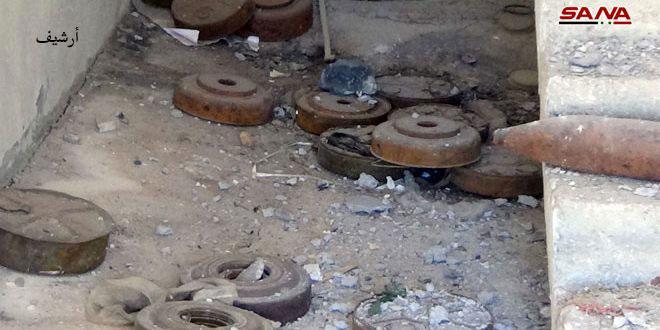В поселке Насиб провинции Дараа на оставленной террористами мине подорвались дети: 3 погибли, 4 ранены