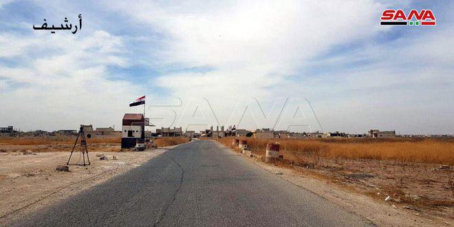 Армейцы в ответ на провокации террористов открыли огонь по их позициям на юге и юго-западе города Алеппо