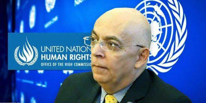 Хайсам Абу Саид: США и некоторые западные страны пытаются продлить кризис в Сирии путем политизации гуманитарных вопросов