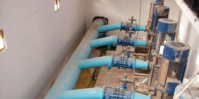 В Хасаке введены в эксплуатацию шесть водонасосных скважин
