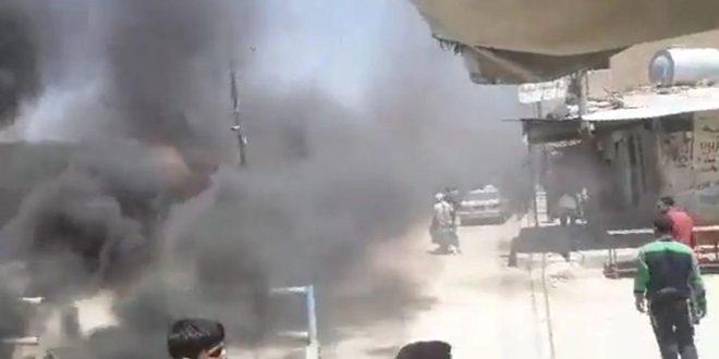 Во время разгона демонстрации в городе Аш-Шаддади против произвола «Касад», погиб мирный житель