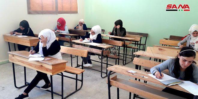 В Пальмире впервые за шесть лет проводятся экзамены по базовому общему образованию