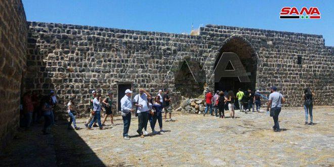 Организована экскурсия в провинцию Кунейтра для гидов туристической группы