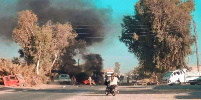В Дейр-эз-Зоре продолжаются акции протеста против преступлений группировок «Касад»