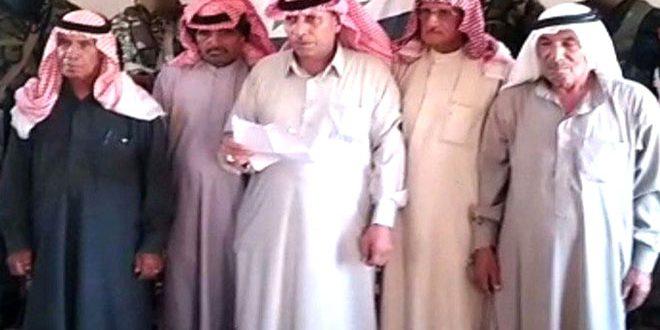 Племя Аль-Буаси в провинции Хасаке подтвердило поддержку других арабских племен в провинции Дейр-эз-Зор