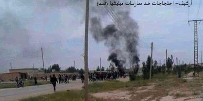 В провинции Ракка боеввики «Касад» похитили мирных жителей и захватили дома
