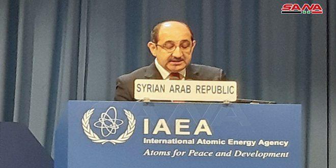 Ас-Саббаг: Ежегодные отчеты МАГАТЭ свидетельствуют о выполнении Сирией своих обязательств
