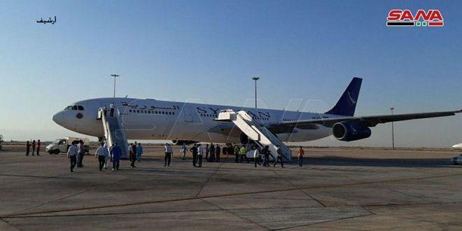 Из Султаната Оман в Дамаск прибыл самолет с 197 сирийцами