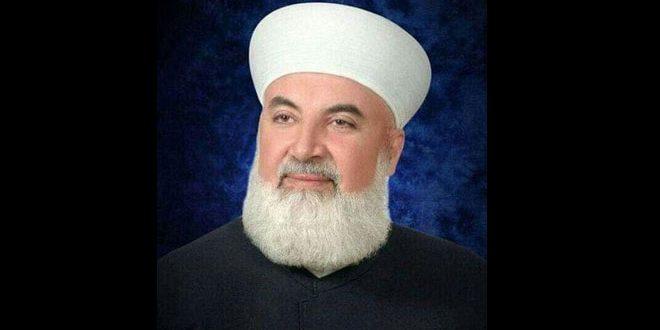 В поселке Кудсея при взрыве погиб муфтий Дамаска и провинции шейх Аднан Аль-Афьюни