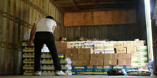 В провинцию Тартус доставлен гуманитарный конвой